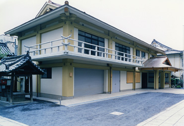 神社参集殿新築工事