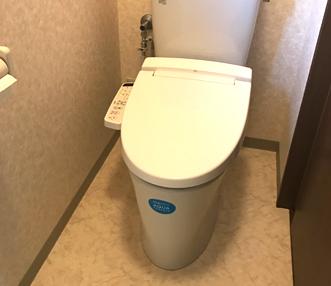施工後のトイレ