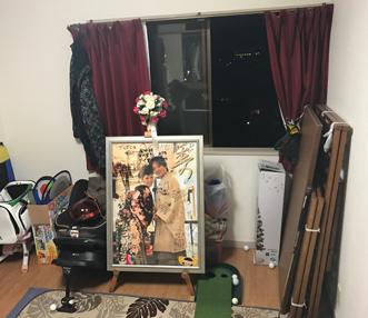 施工前の洋室