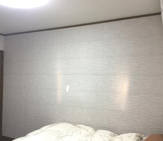 施工後に壁
