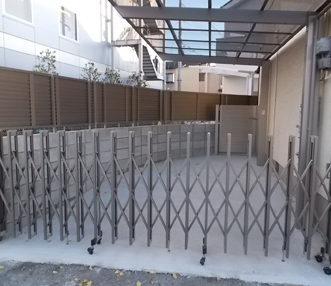 施工後のガレージ