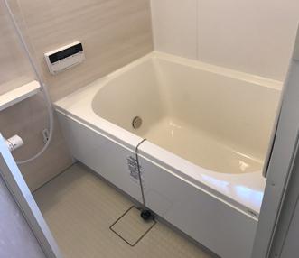 施工後の浴槽