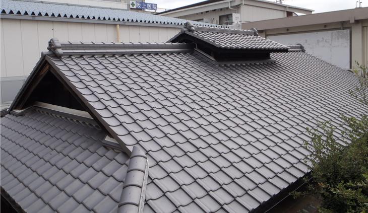 屋根の葺替え