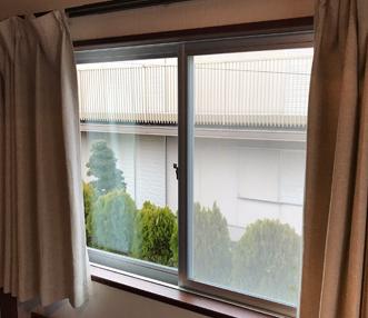 施工後の窓
