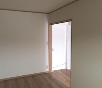 施工後の1階洋室