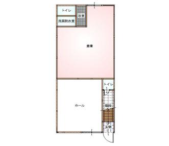 施工前の1階平面図