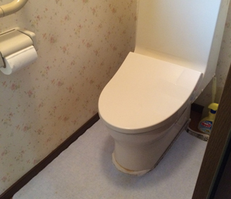 もともと備わっていたトイレ