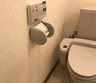 施工前のトイレ