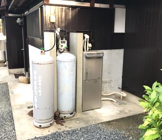 施工後の給湯器