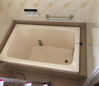 現調時の浴槽