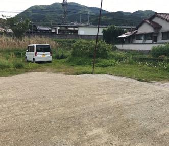 施工後の駐車場