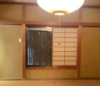 施工前の2階和室