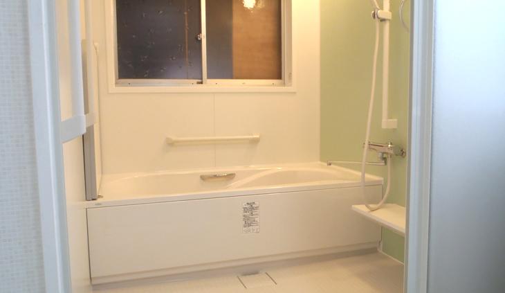 在来浴室からユニットバス