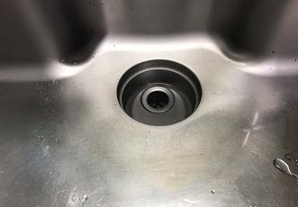 キッチンの排水口